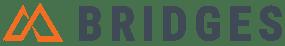 Bridges Logo - Full - Gray and Orange